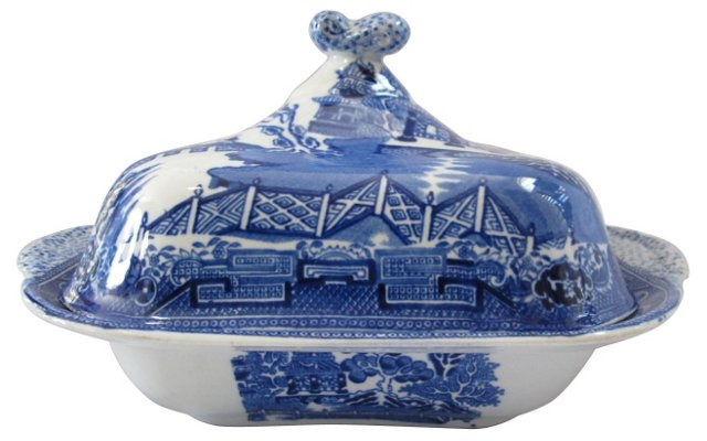 Wedgwood Willow Tureen