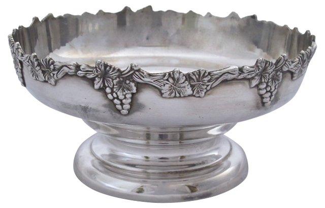 Viner's Silverplate Grapevine Bowl