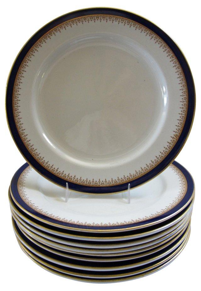 Antique Royal Worcester Plates, S/10