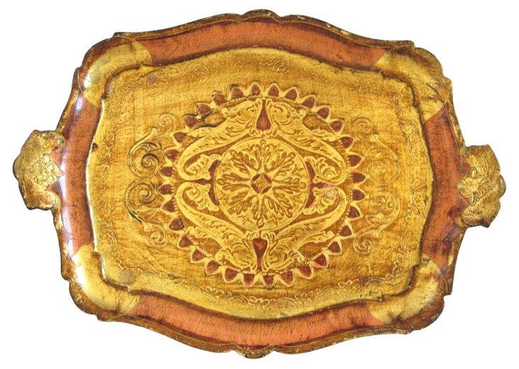 Handled Florentine       Tray