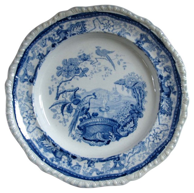 Early Staffordshire Pearlware Plate