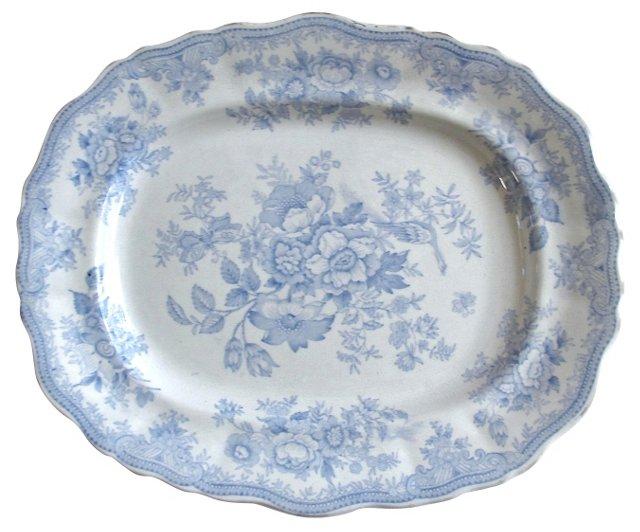 English Asiatic Pheasant   Platter