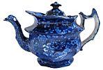 Early Staffordshire Cherub Teapot
