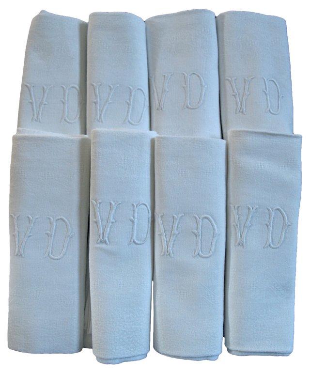 French Linen Napkins, S/8