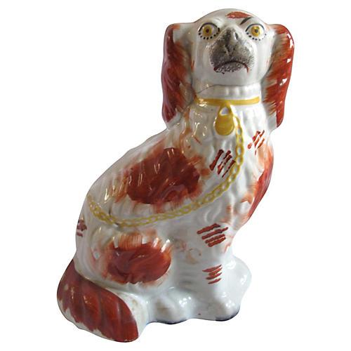 Antique Staffordshire Dog