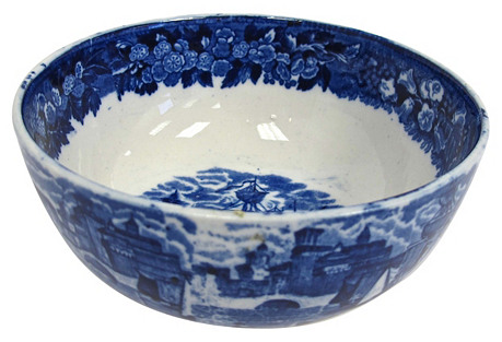 Wedgwood Ferrara     Bowl w/ Ship