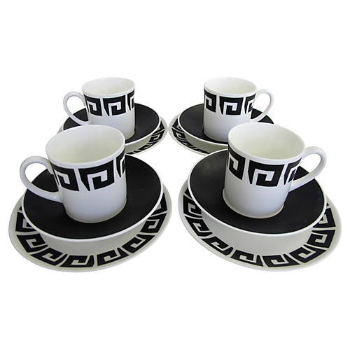 Wedgwood Susie Cooper Set, Svc. for 4