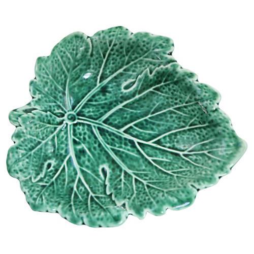 Wedgwood Leaf-Shaped Pickle Dish