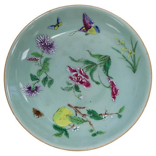 Chinese Celadon Wucai Bowl