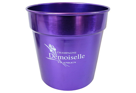 French Purple Champagne Bucket