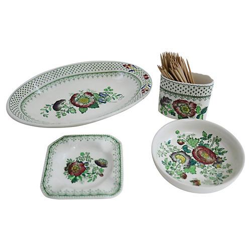 Mason's Paynsley Tableware, 4-Pcs