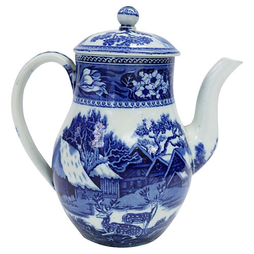 Wedgwood Fallow Deer Tea for One