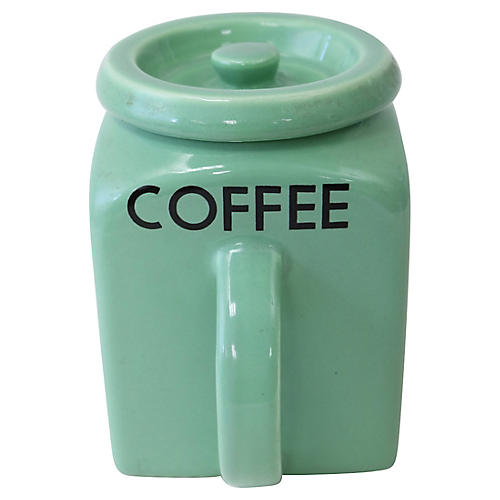 English Coffee Kitchen Canister