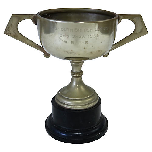 1956 English Dog Show Trophy