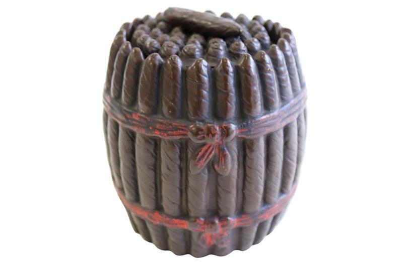 Antique Terracotta Cigar Humidor