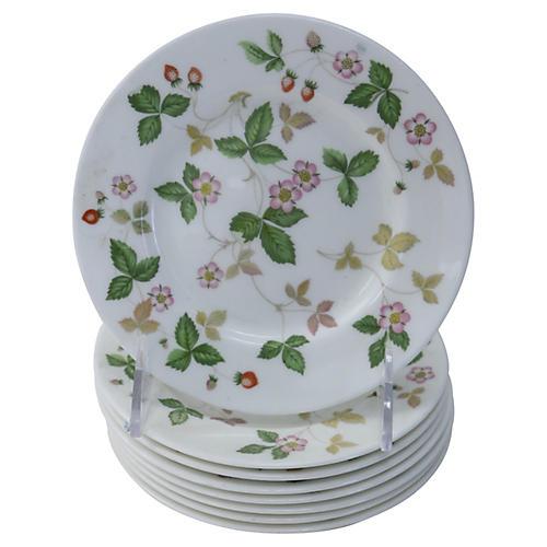 Wedgwood Dessert Plates, S/8