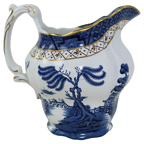 English Willow Jug
