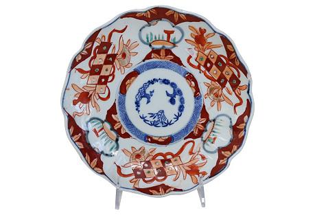 Antique Japanese Imari Wall     Plate