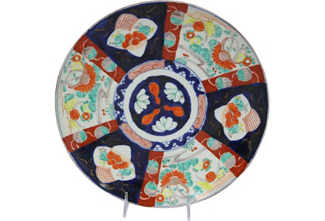 Antique Japanese Imari  Charger/Platter