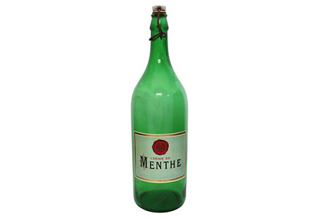 1930s Large French Bistro Bottle