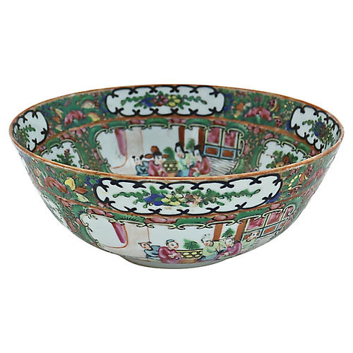Chinese Export Famille Rose Bowl