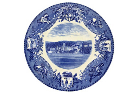 Wedgwood West Point Wall Plate