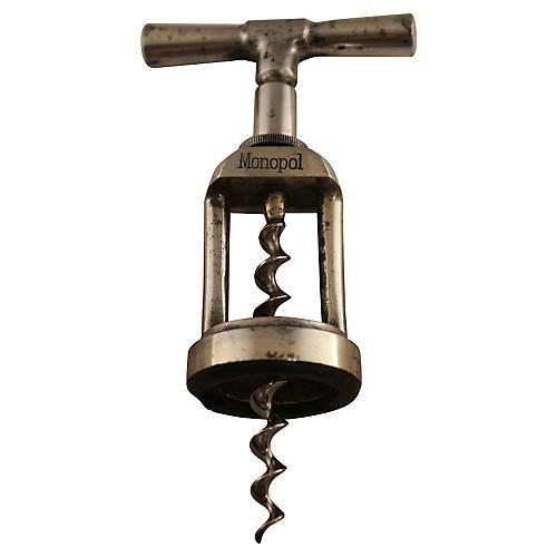 Heavy Steel Corkscrew