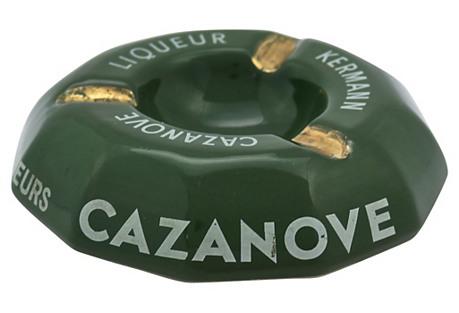 French Cafè Cazanove Cigar Ashtray