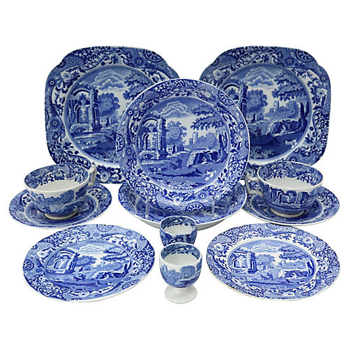 Spode Italian Breakfast For Two, 12 Pcs