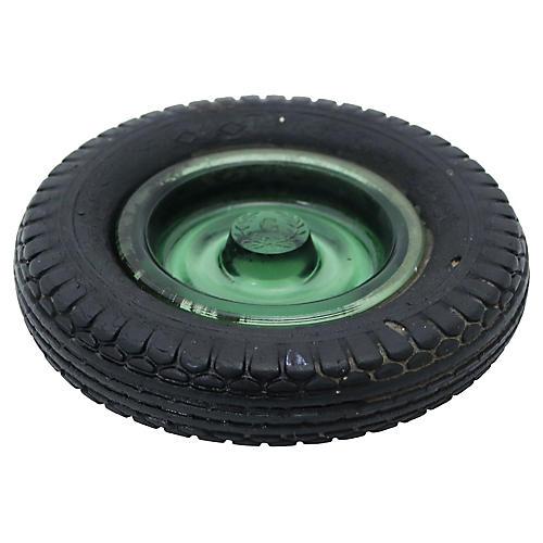 1960s B.F. Goodrich Rubber Tire Ashtray