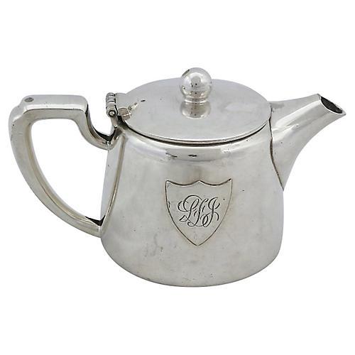 Walker & Hall Hotelware Teapot
