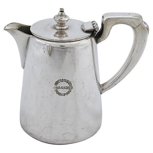 Elkington Hotel Ware Teapot
