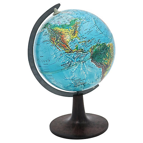 1970's Desk Globe