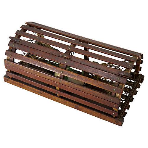 Antique Miniature Lobster Trap