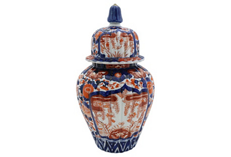 Antique Japanese Imari Ginger Jar