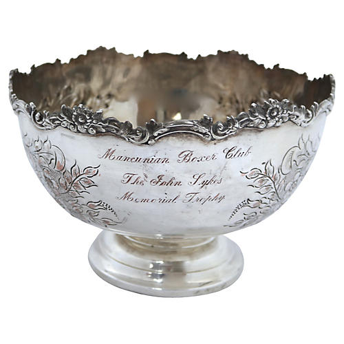 1961 English Boxer Dog Club Trophy Bowl