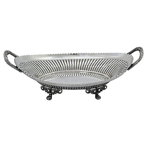 Walker & Hall Silver-Plate Serving Dish