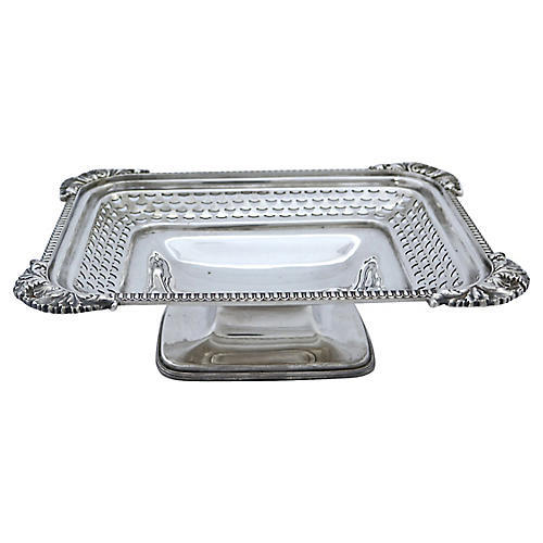 Walker & Hall Silver-Plate Bread Basket