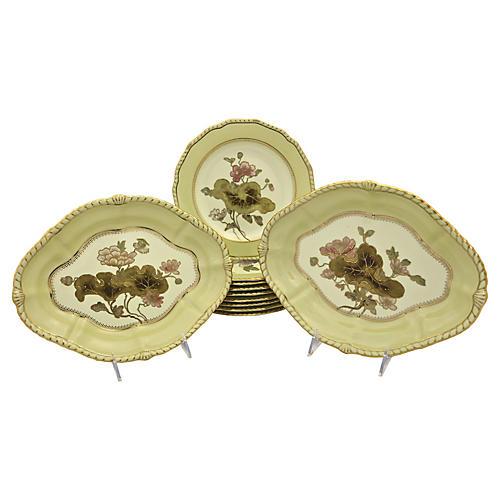 Art Nouveau Crown Derby Serving Set