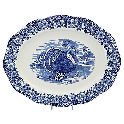 Large Wedgwood Turkey Platter