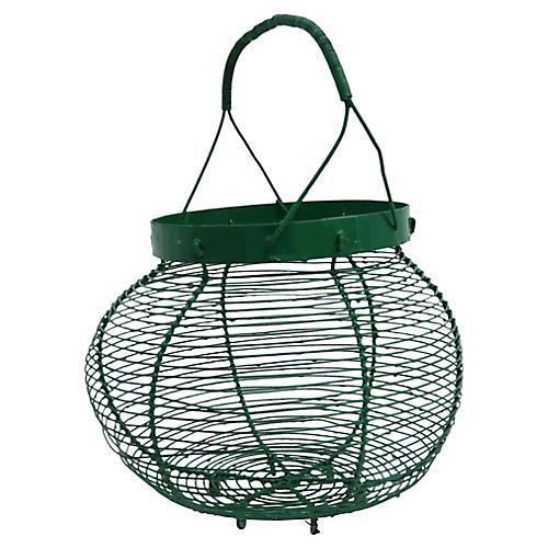 French Market Egg Basket