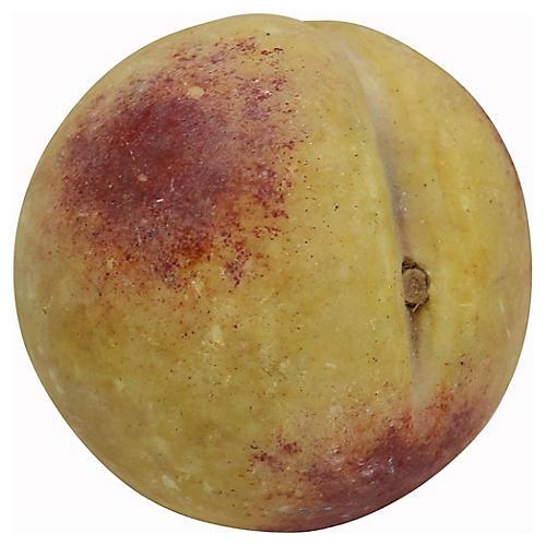 1960's Italian Alabaster Peach