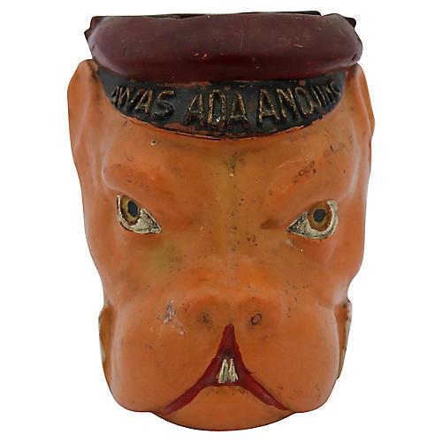 1920s Bulldog Figural Cigar Ashtray