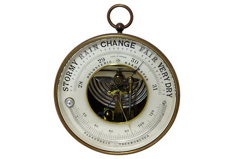 Yacht Club Race Trophy Barometer