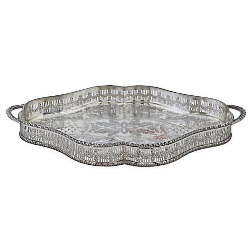 Viner's Silver-Plate Gallery Tray