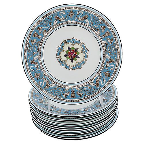 Wedgwood Florentine Dessert Plates, S/10