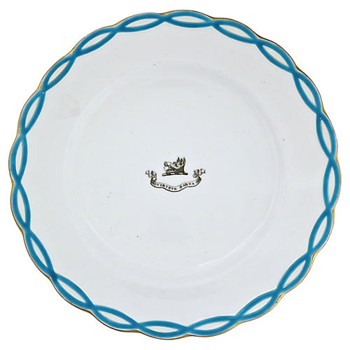"""Antique """"After Power"""" Plate, C. 1830"""