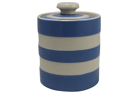 T.G. Green Cornishware Preserves Pot