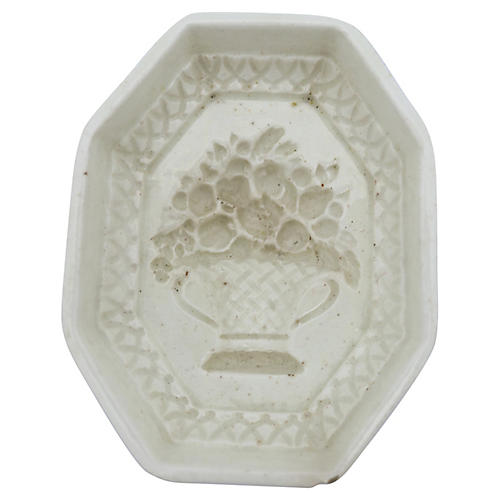 Antique Spode Creamware Jelly Mold