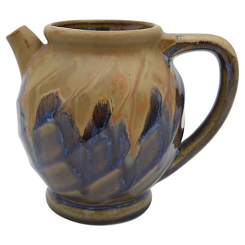 French Art Pottery Water Jug